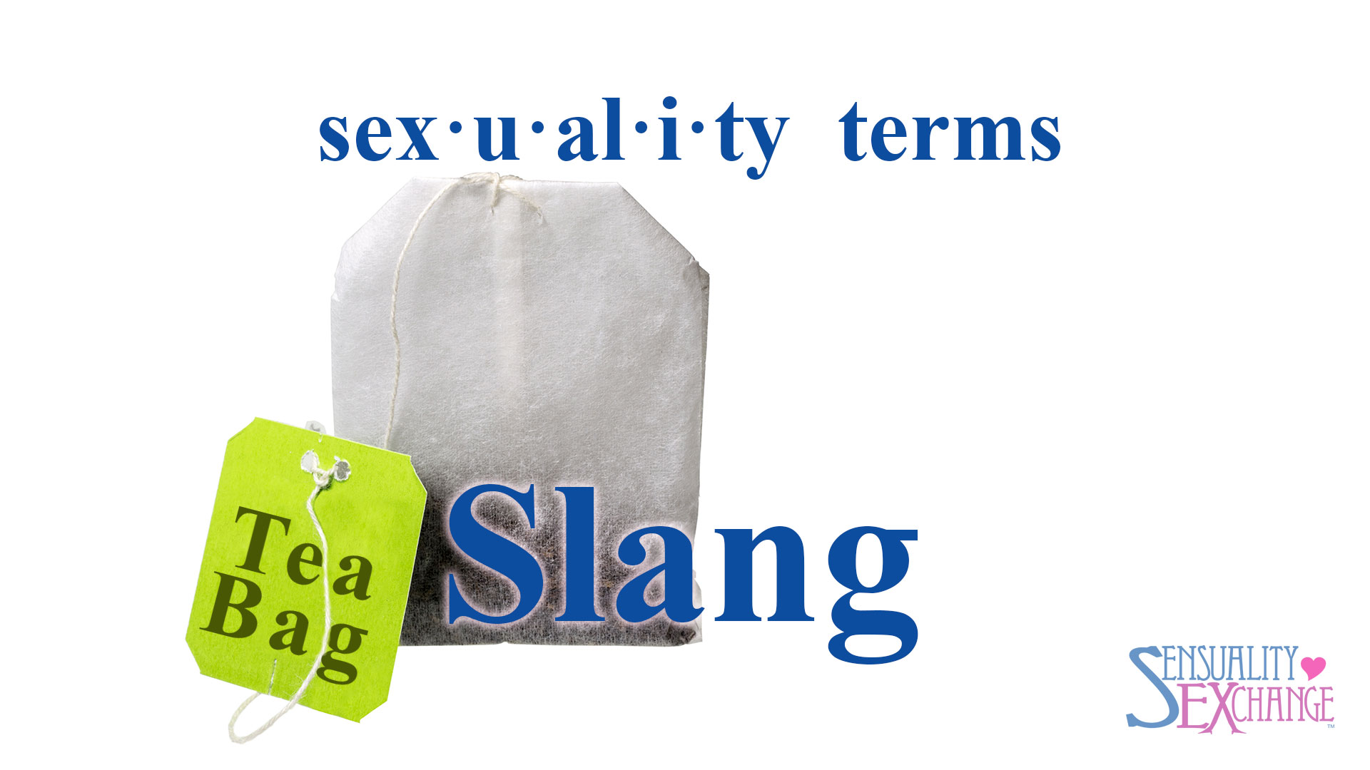 Sexual Terminology Slang