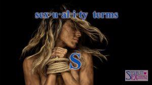 Sexual Terminology - S